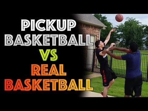 What It's Like to Play Pickup Basketball (видео)