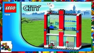 LEGO instructions - City - Fire - 7208 - Fire Station (Book 4)