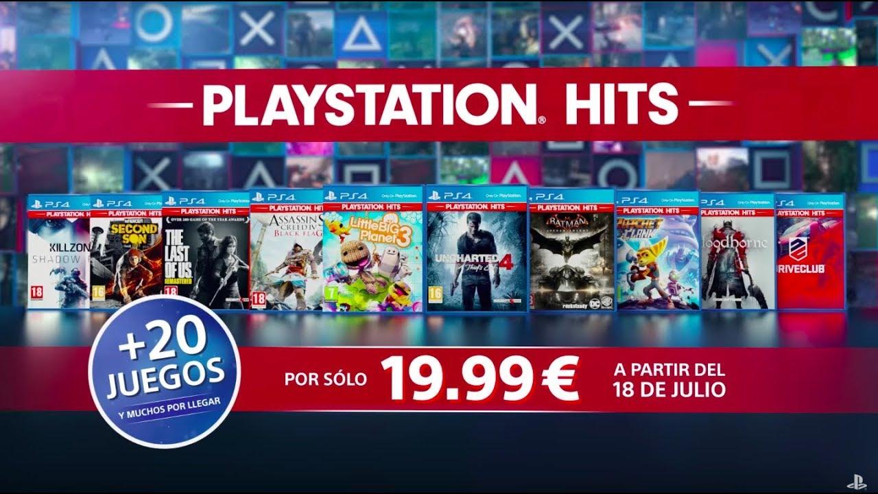 La gama PlayStation Hits ya está en las tiendas