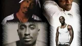 2pac ft akon - dj one - ghetto gospel (remix)