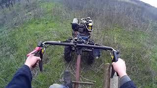 Путешествие на мотоблоке за дровами