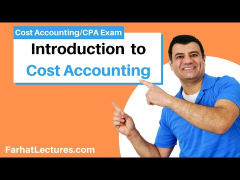 Introduction to Cost Accounting - CPA Exam BEC - YouTube