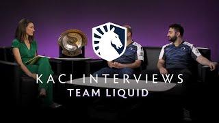 Team Liquid Interview with Kaci - The International 2019