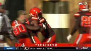 Nick Chubb 92 Yard Rushing Touchdown vs. Falcons | NFL Highlights