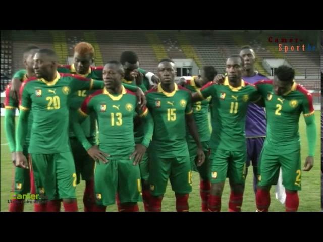 Cameroun - Guinée du 28 mars 2017 à Bruxelles