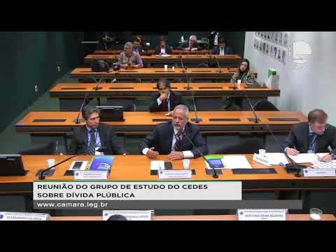 Centro de Estudos e Debates Estratégicos - A dívida pública brasileira: um novo estudo - 07/11/19
