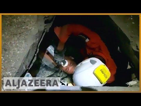 🇮🇩 Indonesia earthquake: Rescuers found man alive after three days | Al Jazeera English