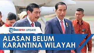 Presiden Belum Karantina Wilayah karena Pikirkan Nasib Rakyat Kecil, Luhut: Beliau Pernah Ngalamin