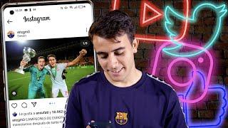 ?? PLAYERS vs SOCIAL MEDIA: ERIC GARCÍA on MAN CITY, ANSU FATI, FAMILY...