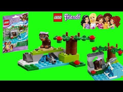 Vidéo LEGO Friends 41046 : L'ours brun et sa rivière