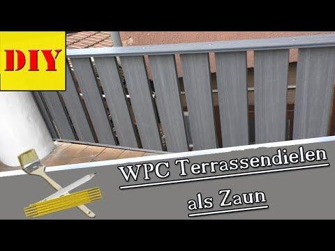 ⏩ Balkon o. Terrassen Geländer selber bauen - Schritt für Schritt Tutorial