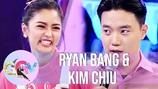 Ryan can't forget the moment he slept beside Kim | GGV