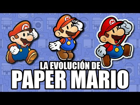 La Evolución de Paper Mario - Leyendas & Videojuegos