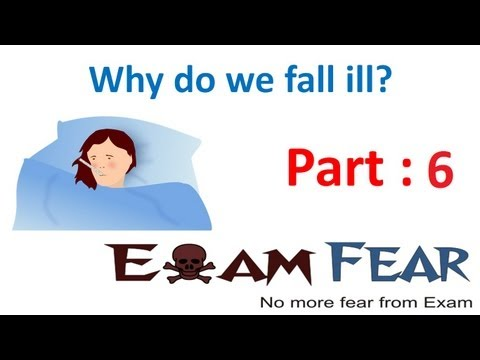 Video Biology Why do we fall ill part 6 (knowing infectious agents help disease treatment) CBSE class 9 IX