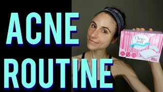 Acne Skin Care Routine With A Dermatologist 🙆