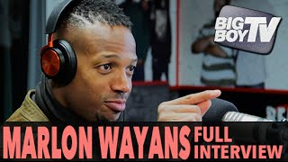 """Marlon Wayans on """"Fifty Shades of Black"""", 2016 Oscars Boycott, And More (Full Interview)   BigBoyTV"""