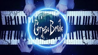 """The Piano Duet"" - Tim Burton's Corpse Bride (Extended Version) [HD Piano Cover, Halloween Music]"