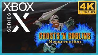 [4K] Ghosts 'n Goblins Resurrection / Xbox Series X Gameplay