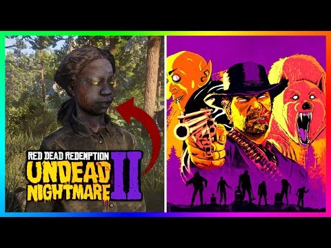 Red Dead Redemption 2 Halloween DLC Update - NEW Spooky Content, 3X Gold Payouts & MORE! (RDR2)