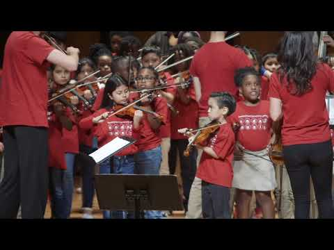Teaching and performing with the Houston Youth Symphony Coda Program