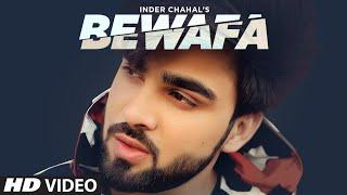 Bewafa Song Lyrics in English – Inder Chahal