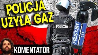Policja Spacyfikowała Strajk Przedsiębiorców – Użyto Gaz