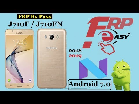 Samsung J710FN 7 0 Nougat FRP Bypass Google Account Done
