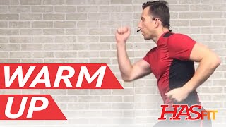 5 Min Dynamic Warm Up Exercises Before Workout - Warm Up Before Running, Cardio, or Lifting Weights by HASfit