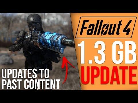 Fallout 4 Got a 1.3GB Update