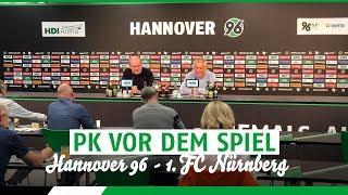 PK vor dem Spiel | Hannover 96 - 1. FC Nürnberg