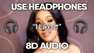 Cardi B, Bad Bunny & J Balvin   I Like It (8D Audio) 🎧