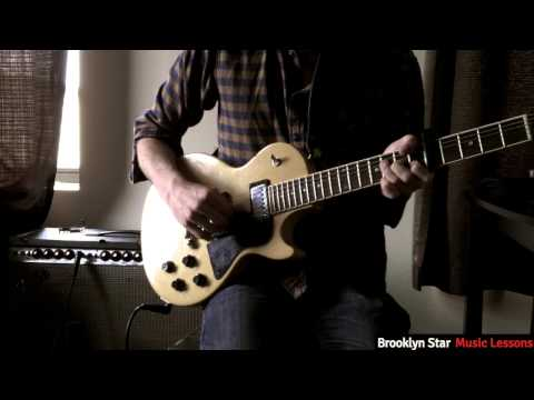 """A video tutorial I made several years ago on how to play the guitar line from Nico's performance of """"These Days"""""""