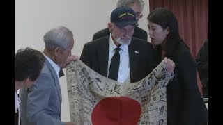 WWII Vet Returns Flag To Japanese Family