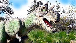 Выставка ДИНОЗАВРОВ Видео про Динозавров Детям ВЛОГ Lion boy