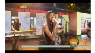 "Christina Perri performs new single ""Burning Gold"" on ""The Today Show"""
