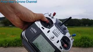 #24 Racing drone acro mode practice 레이싱 드론 아크로 모드 시계비행 연습