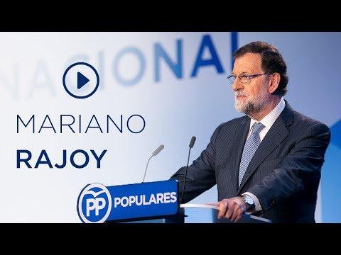 Discurso Mariano Rajoy en la Junta Directiva Nacional