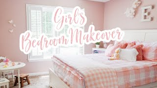 GIRLS BEDROOM MAKEOVER 💕 | ROOM DECOR TOUR | BEDROOM DECORATING IDEAS