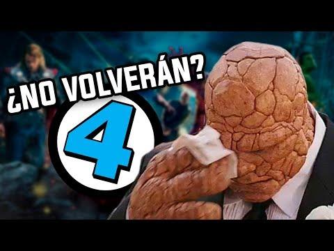 ¿No volverán LOS 4 FANTÁSTICOS a Marvel Studios? Todos los detalles del contrato explicados.