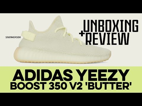 920670849e505 UNBOXING+REVIEW - adidas Yeezy BOOST 350 V2  Butter