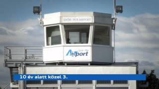 preview picture of video 'Győr-Pér Airport'