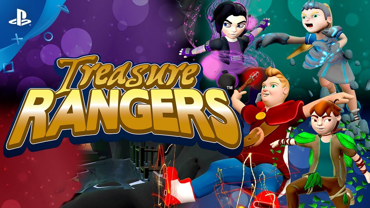 Meet the Cast of Treasure Rangers, Out Monday on PS4