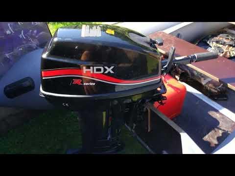 лодочный электромотор hdx видео