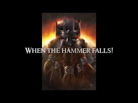 When the Hammer Falls - Clamavi De Profundis (Original Song)