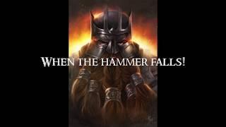 When the Hammer Falls - Clamavi De Profundis (Original Song)