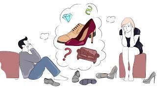 Дудл видео для магазина обуви и аксессуаров Vitto Rossi