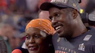 Von Miller and Mom: Through Thick and Thin | NFL Films Presents