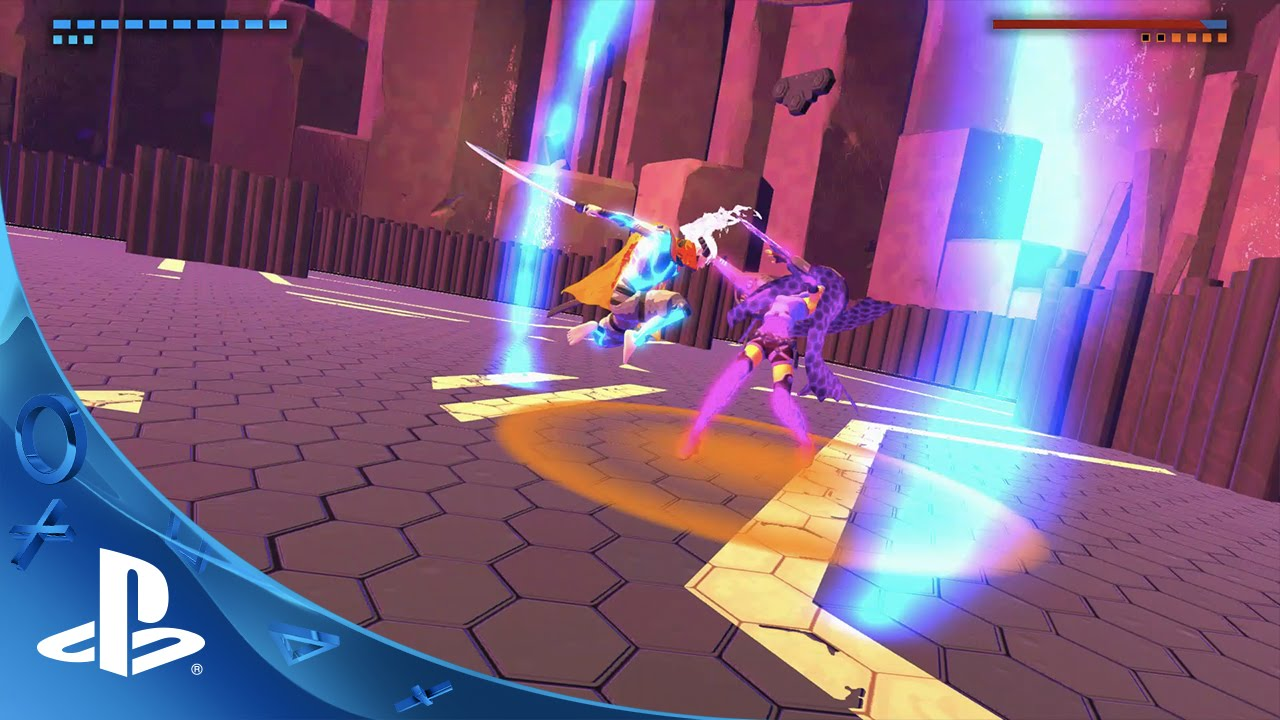 Furi on PS4: A Gauntlet of Brutal Boss Battles