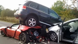 Подборка Аварий, Жёсткие ДТП. CAR CRASH.№1