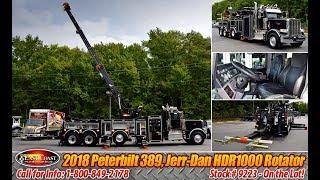 2018 Peterbilt HDR1000 Gold Series Rotator Wrecker - Stock#9223N